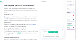 PLR.me Articles - Gammarly Review